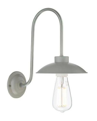 Dallas single wall light in powder grey DAL0739 (7-10 day delivery)